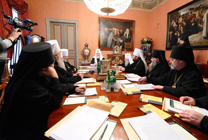 Постановления Священного Синода об издательской деятельности Русской Православной Церквиizdat-sinod