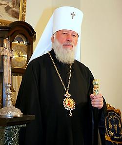 Программа торжественных мероприятий, посвященных празднованию 75-летия Блаженнейшего Митрополита Владимира