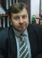 Владимир Бурега, кандидат богословия, доцент, кандидат исторических наук