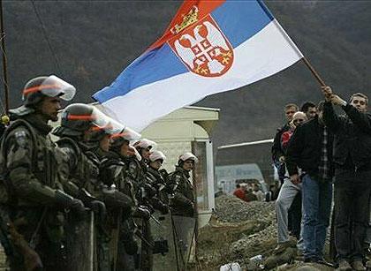 Акция «Косовский щит». За сербских братьев! За Православие!