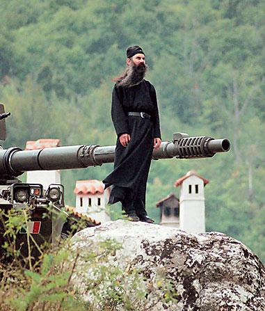 За сербских братьев! За Православие!