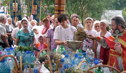 Для чего в храмах освящают травы, семена, растения?