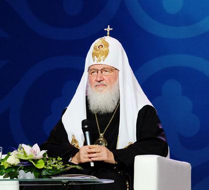 Выступление Святейшего Патриарха Кирилла на открытии Международного съезда православной молодежи в Москве (видео)